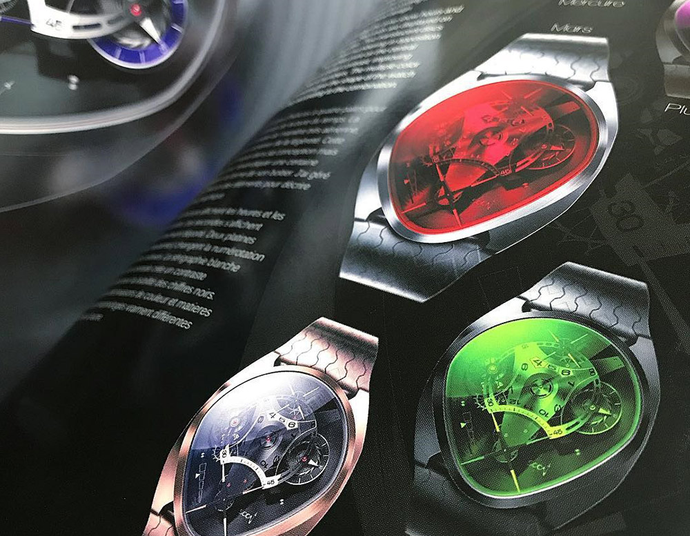 SOON TIMEPIECE PHENOMENA watch artbook by Olivier Gamiette
