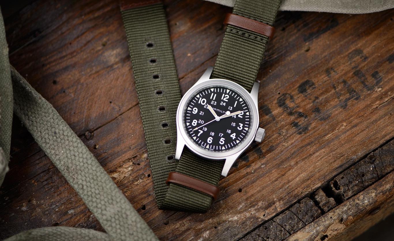 The Vintage Military Style Hamilton Khaki Field Oracle Time