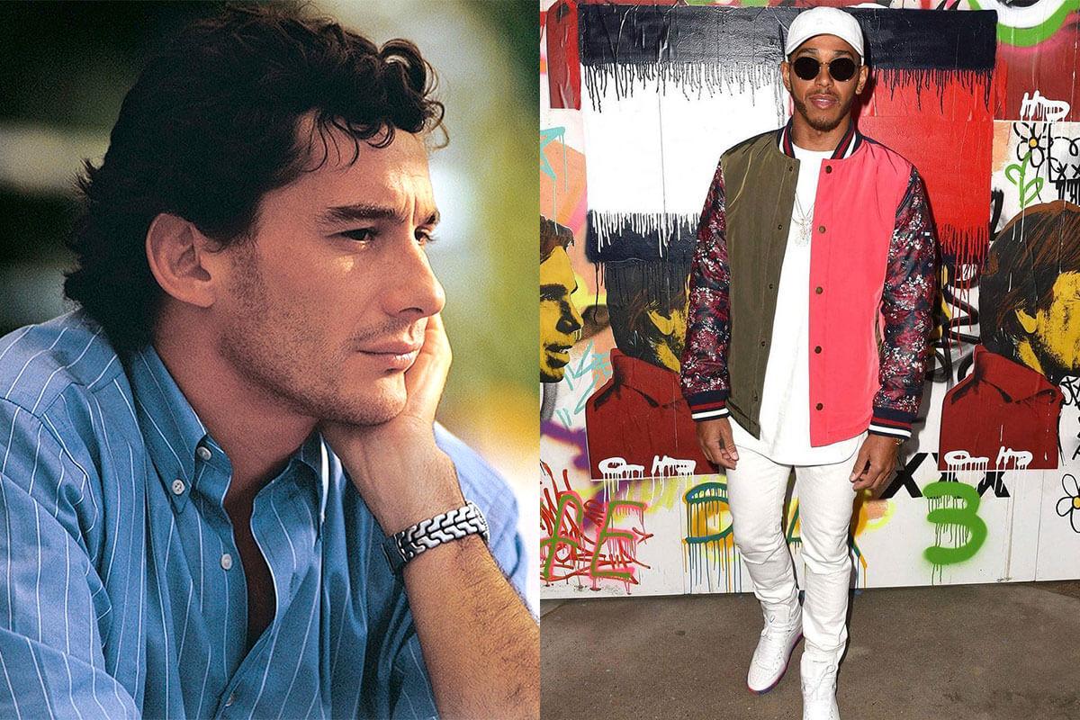 Ayrton Senna Lewis Hamilton