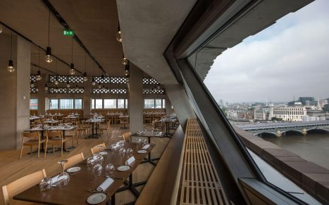 Level 9 restaurant Tate Modern
