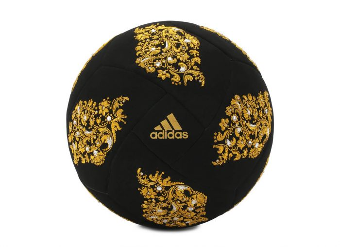 Adidas' £12,000 Velvet World Cup Football