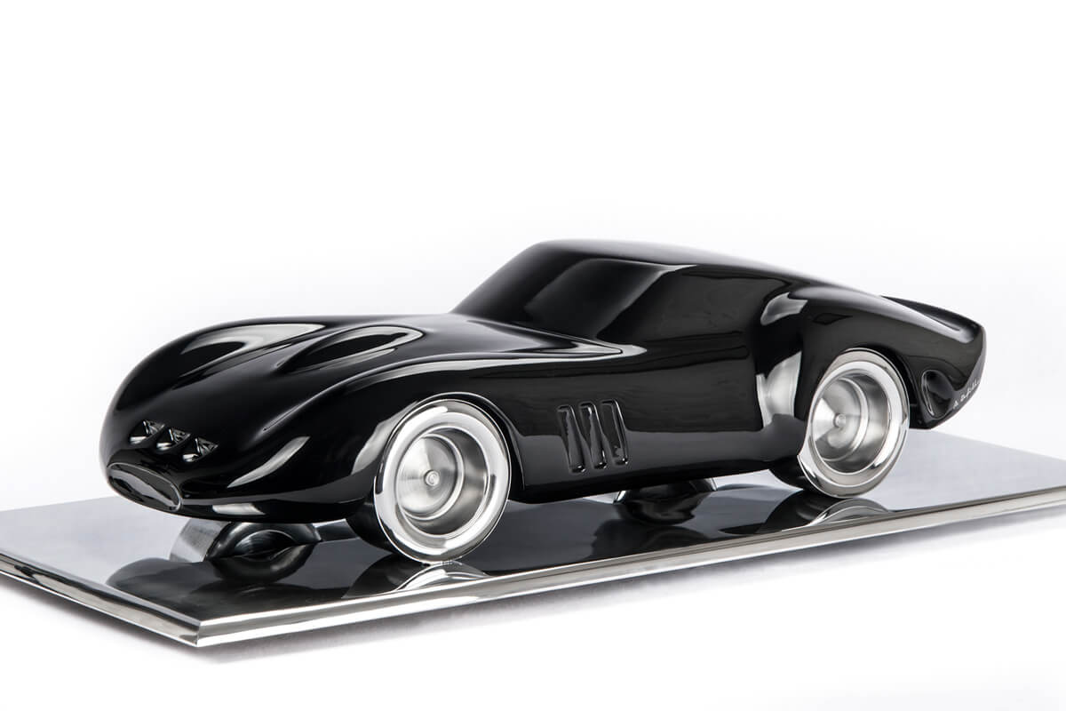 Antoine Dufilho's Dynamic Car Sculptures at the MAD Gallery