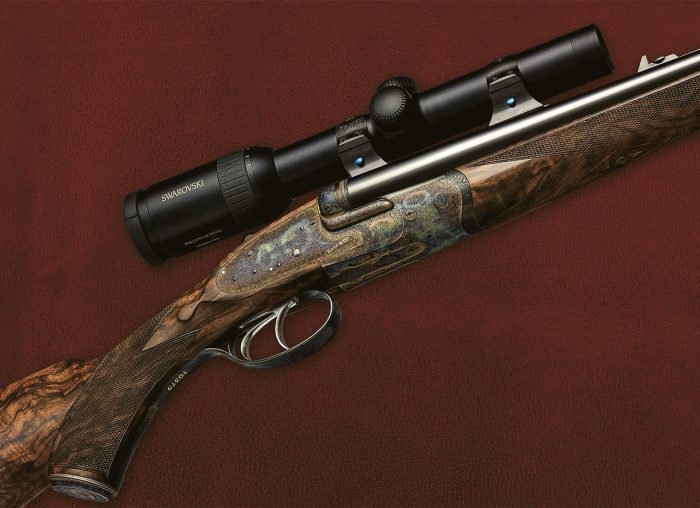 Boss & Co Rifle with Swarovski Scope