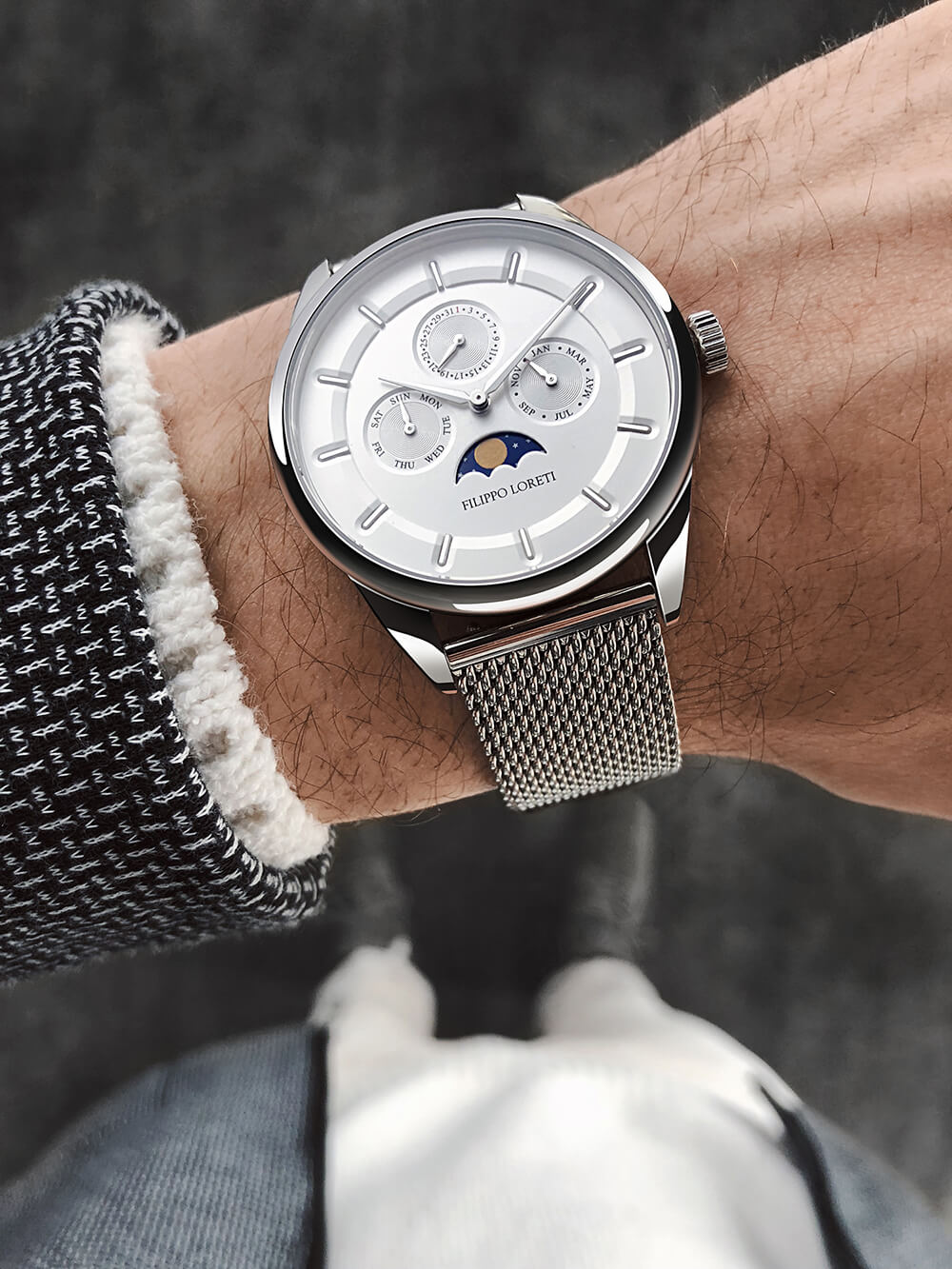 Filippo Loreti Venice Moonphase