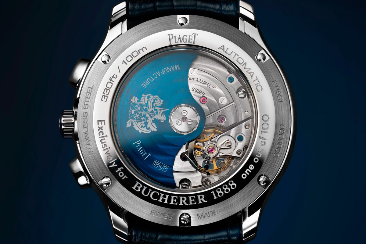 Piaget Polo S Bucherer Blue Edition