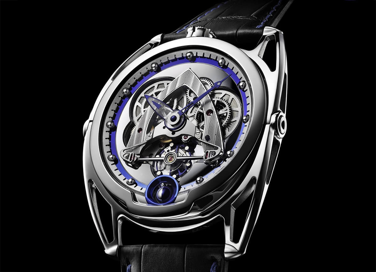 De Bethune Steel Wheels