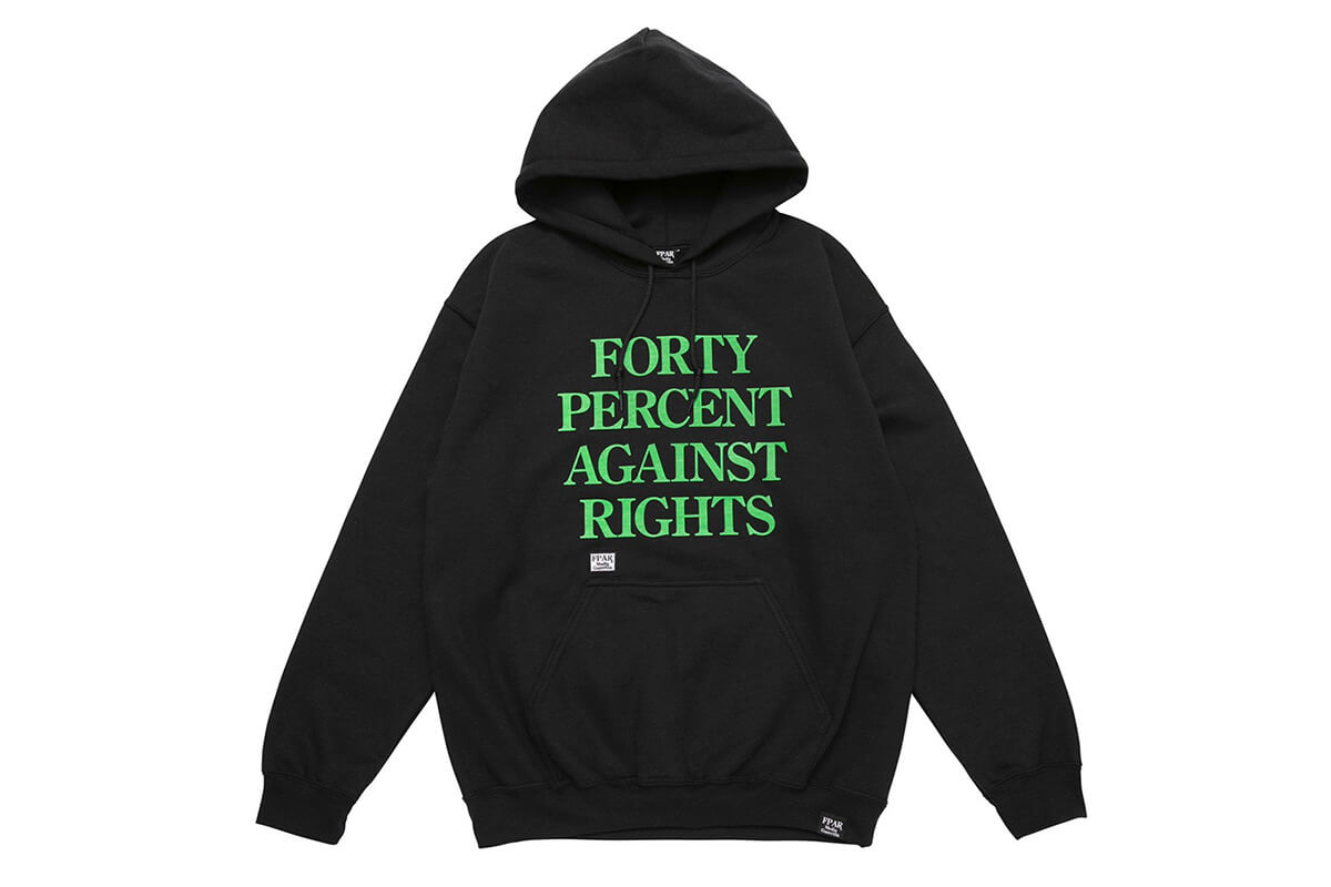 Forty Percents Against Rights Streetwear