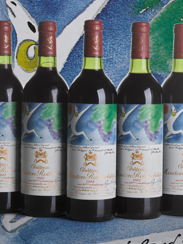 Bonhams Fine and Rare Wines Sale