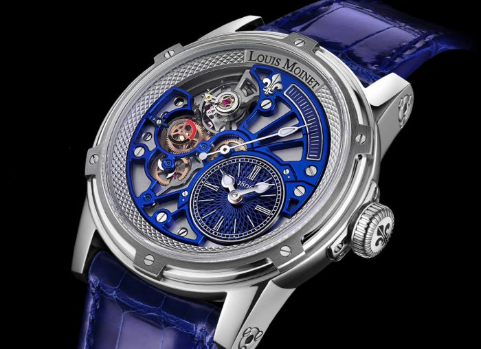 Louis Moinet Tempograph Chrome Blue