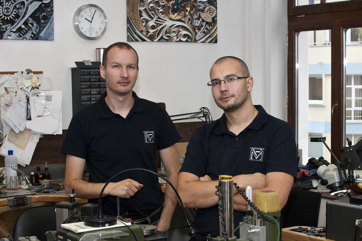 Michal Molnar and Igor Fabry