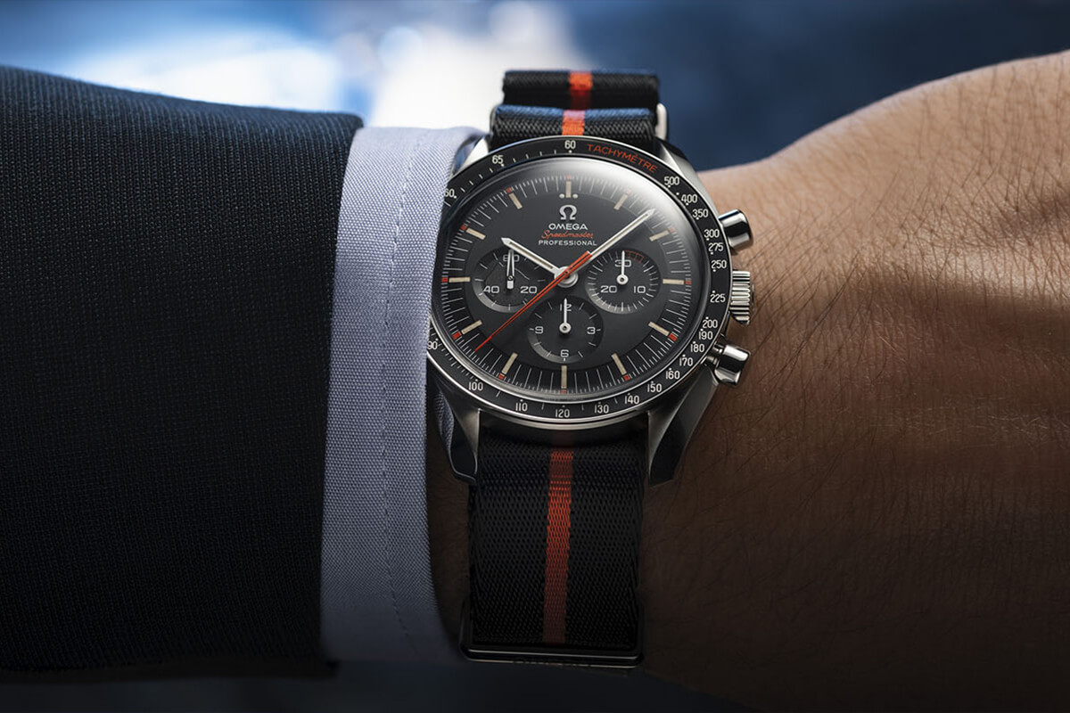"Omega Speedmaster #SpeedyTuesday Limited Edition ""Ultraman"""