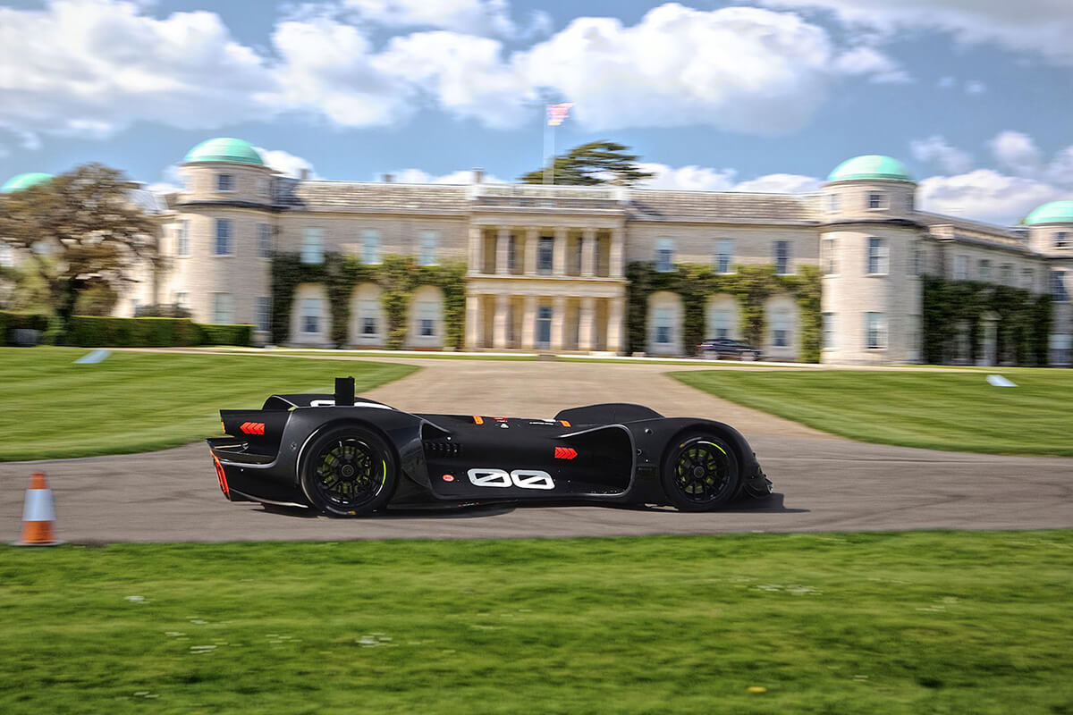Roborace Autonomous Race Car Festival of Speed 2018