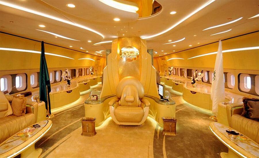 Sheikh Mohammed Bin Rashid Al Maktoum's private jet