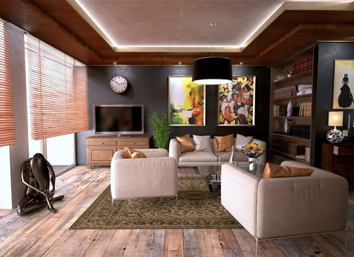 Smart Home Living Room
