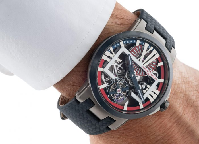 Ulysse Nardin Stars And Stripes Executive Tourbillon