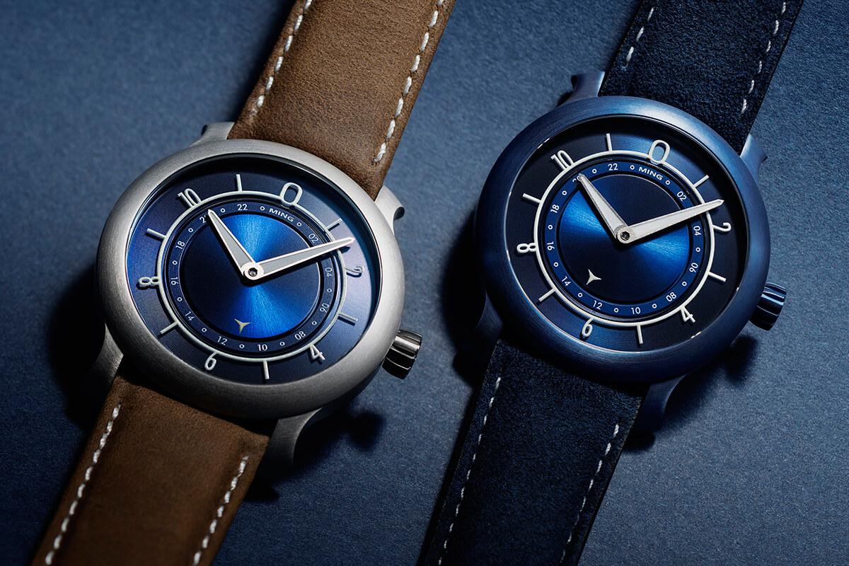 Ming 17.03 Ultra Blue & Blue