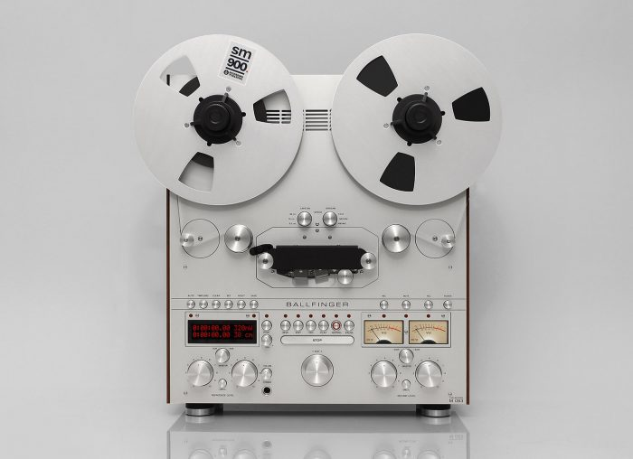 Ballfinger's Reel to Reel Tape Deck Recorder