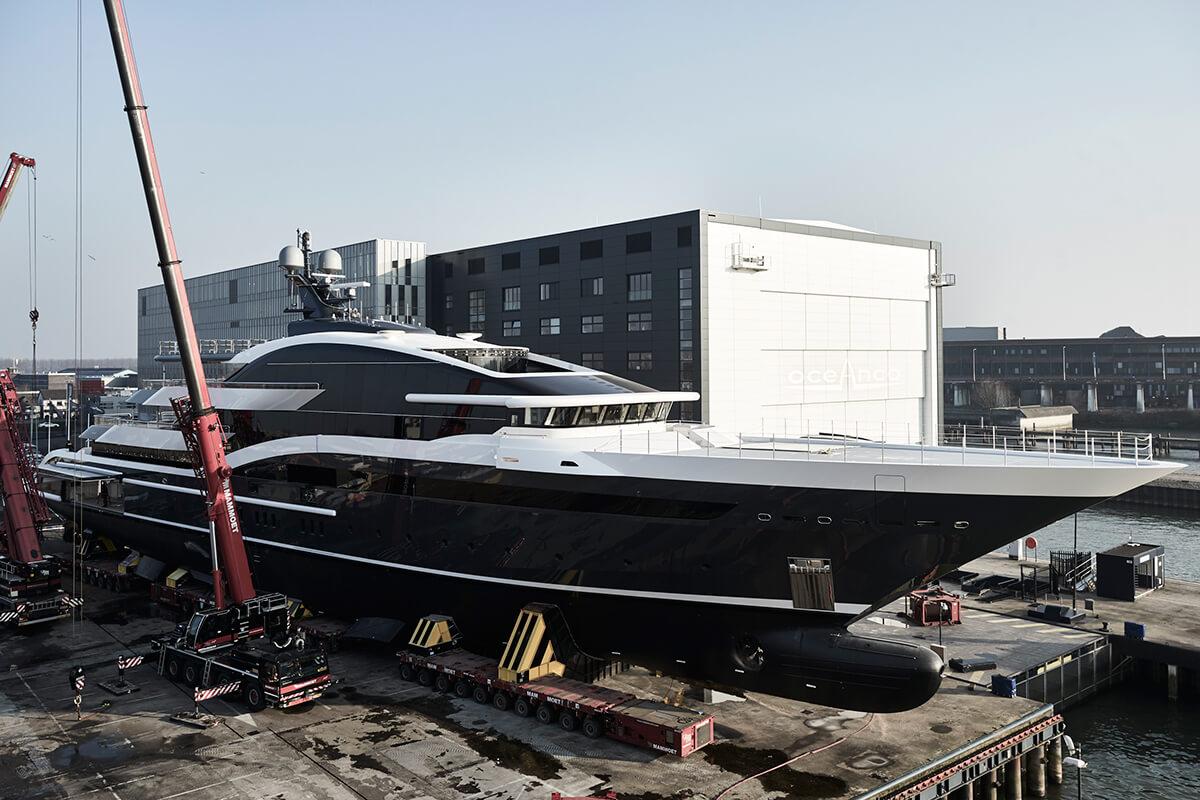 M/Y DAR 90m Yacht by Oceanco
