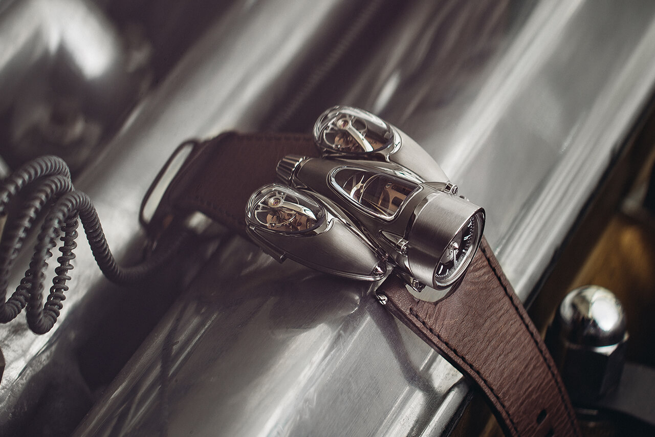 "MB&F Horological Machine No. 9 HM9 ""Flow"""