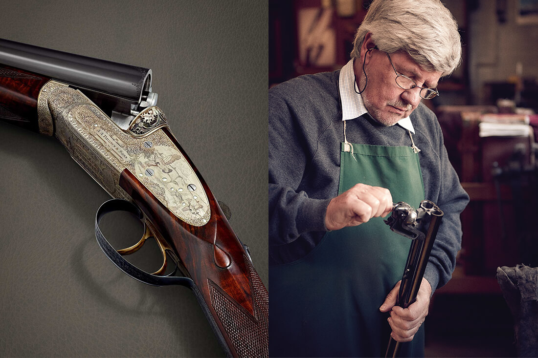 The Supreme de Luxe - a high quality all-English sidelock ejector sporting shotgun