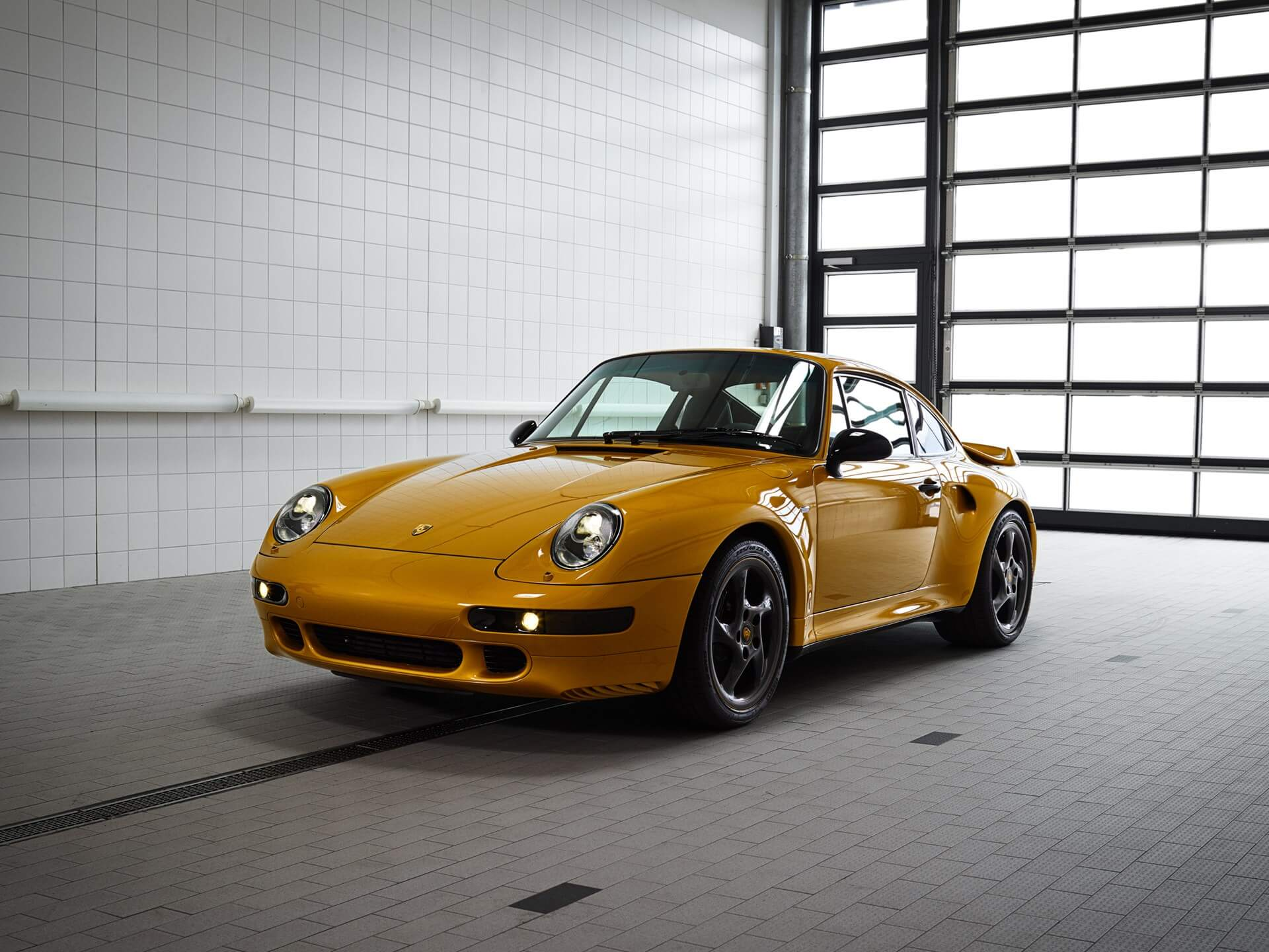 2018 Porsche 911 Turbo Classic Series Project Gold ©2018 Courtesy of RM Sotheby's