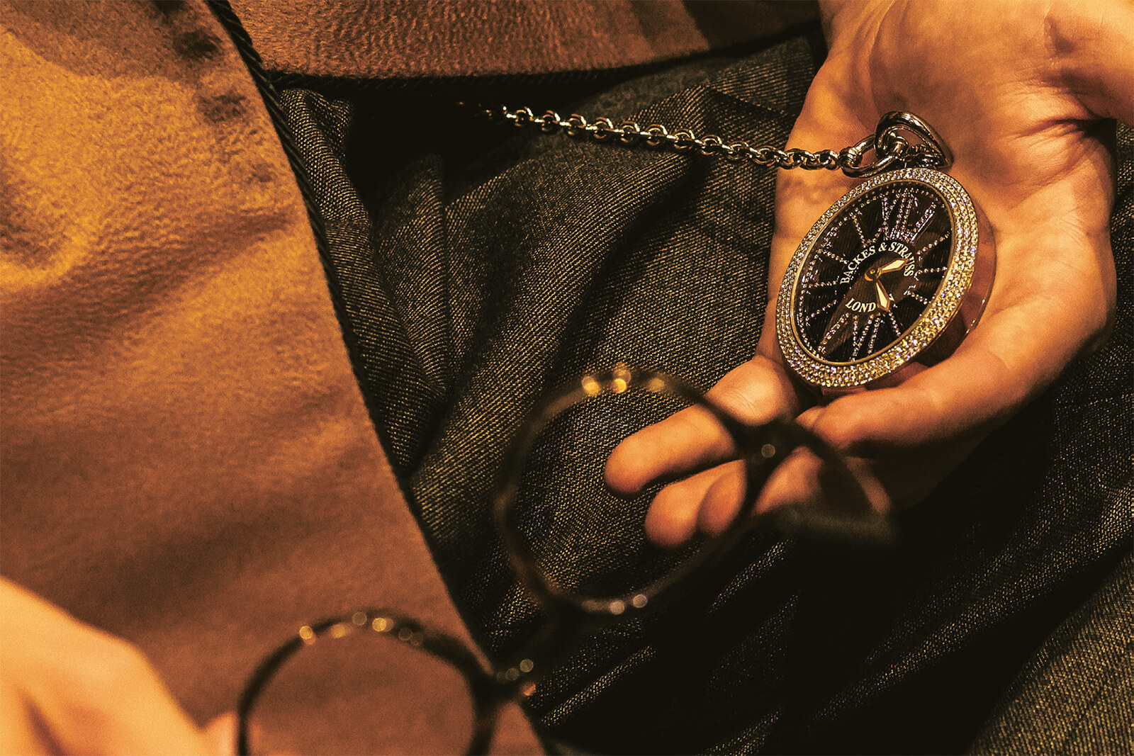 Backes & Strauss Beau Brummel Pocket Watch