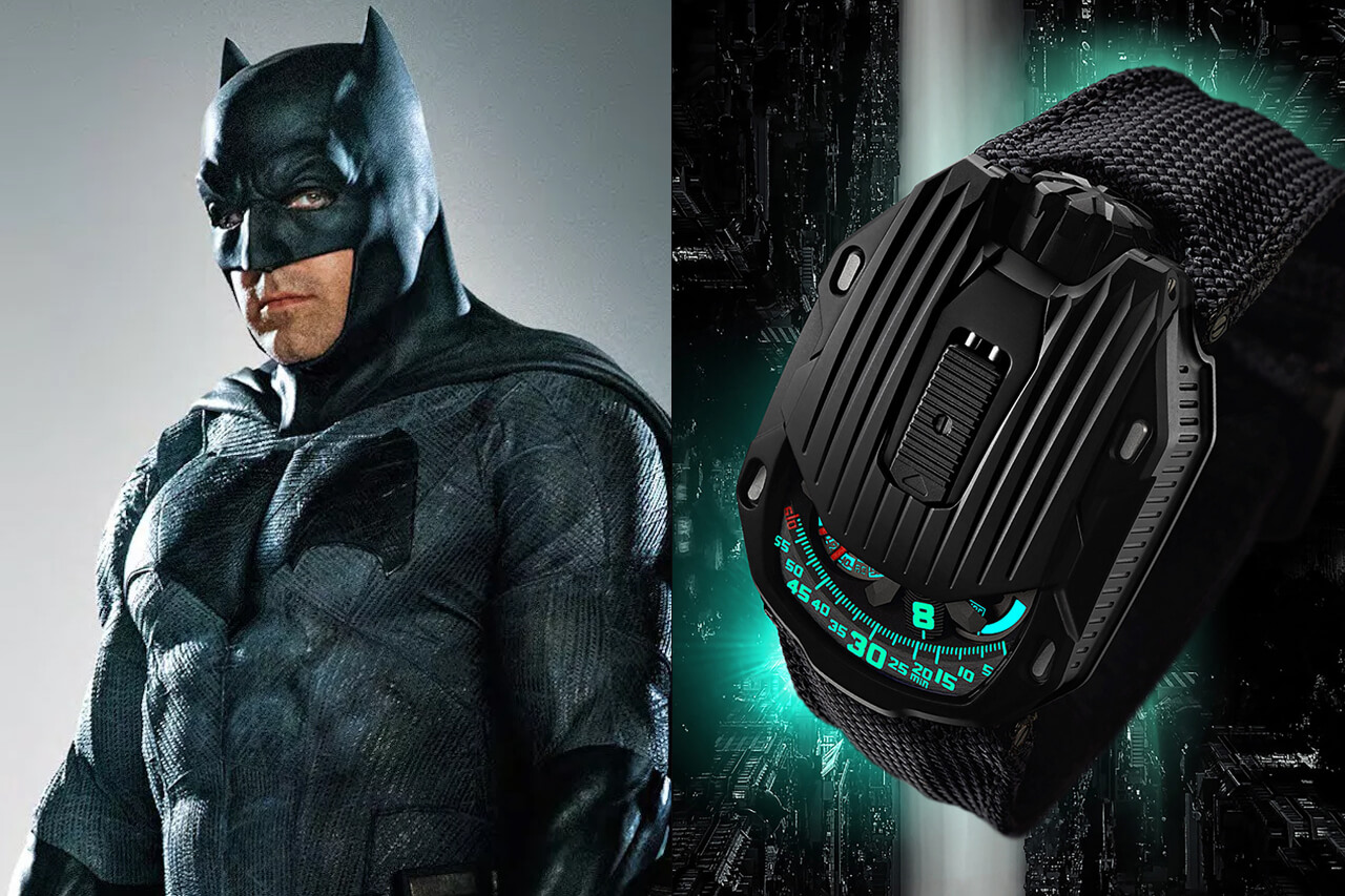 Batman Ben Affleck Urwerk UR-105 CT Kryptonite Watch