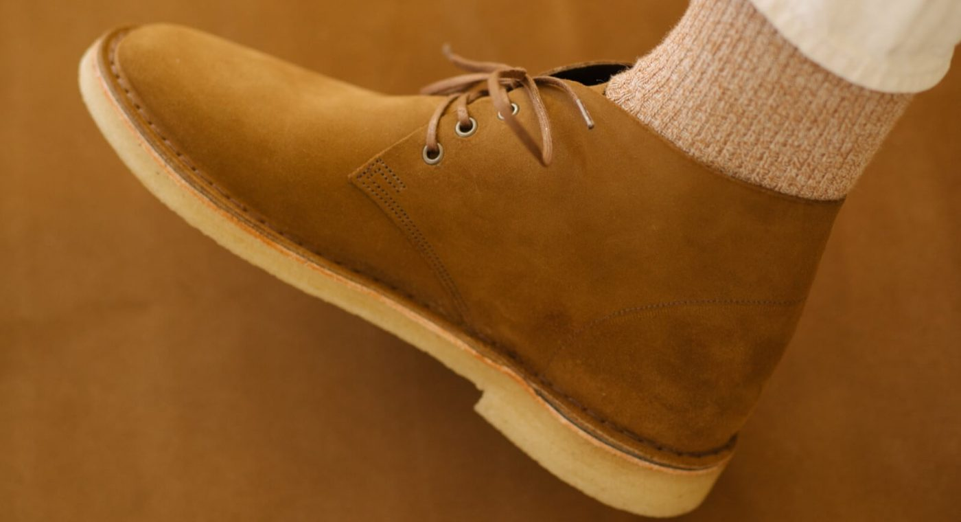 Crown Northampton Crepe Sole Desert Boots