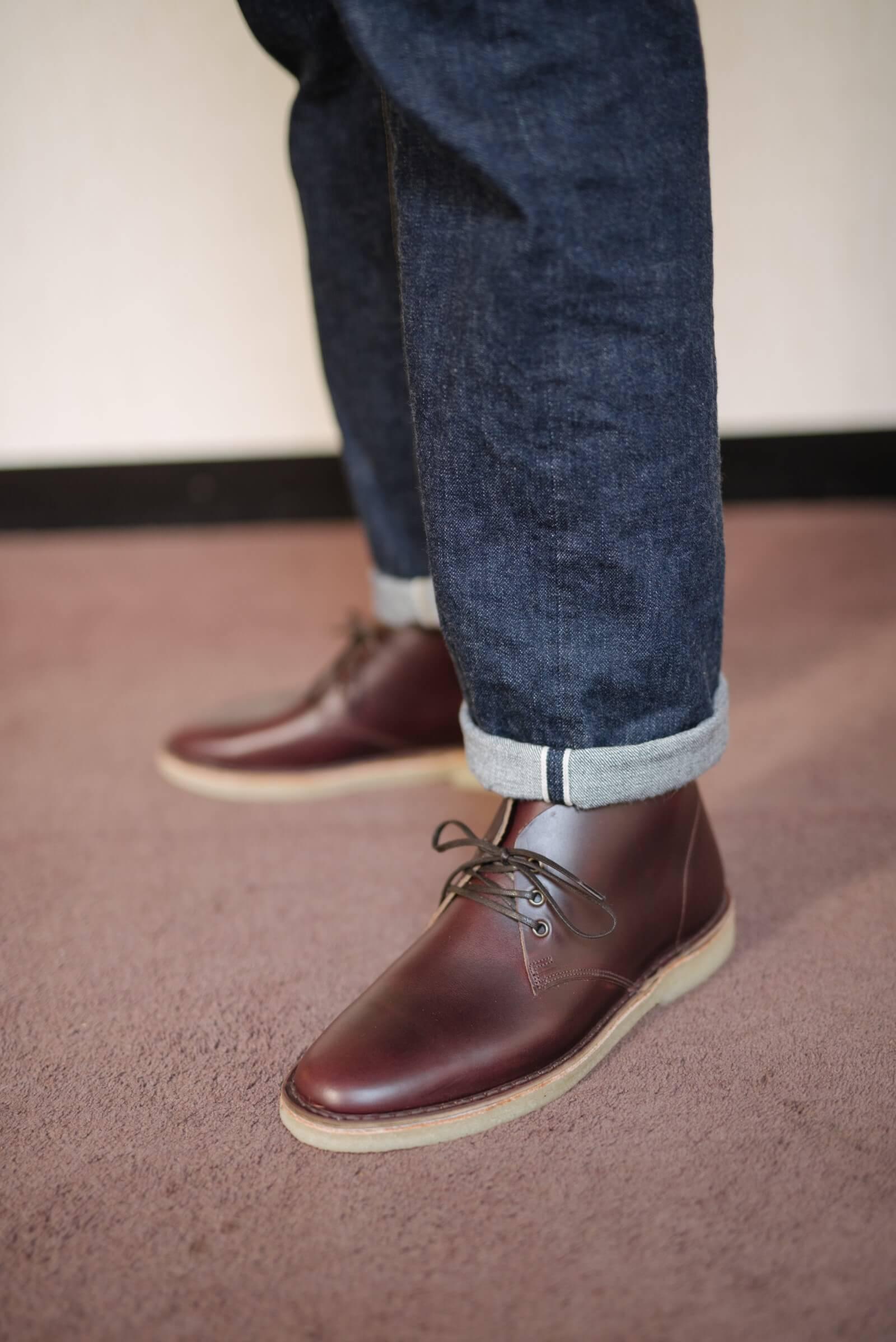 Crown Northampton Crepe Sole Desert Boots
