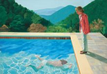 David Hockney's Portrait of an Artist