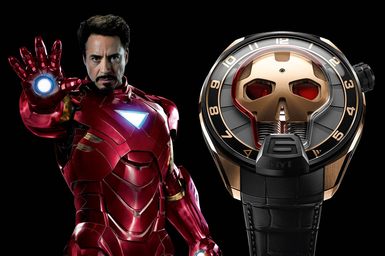 Iron Man Robert Downey Jr HYT Skull Watch