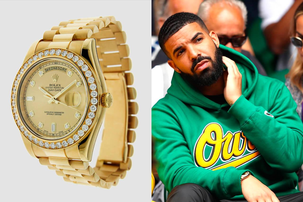 Rolex Day Date II 18K Yellow Gold - Drake