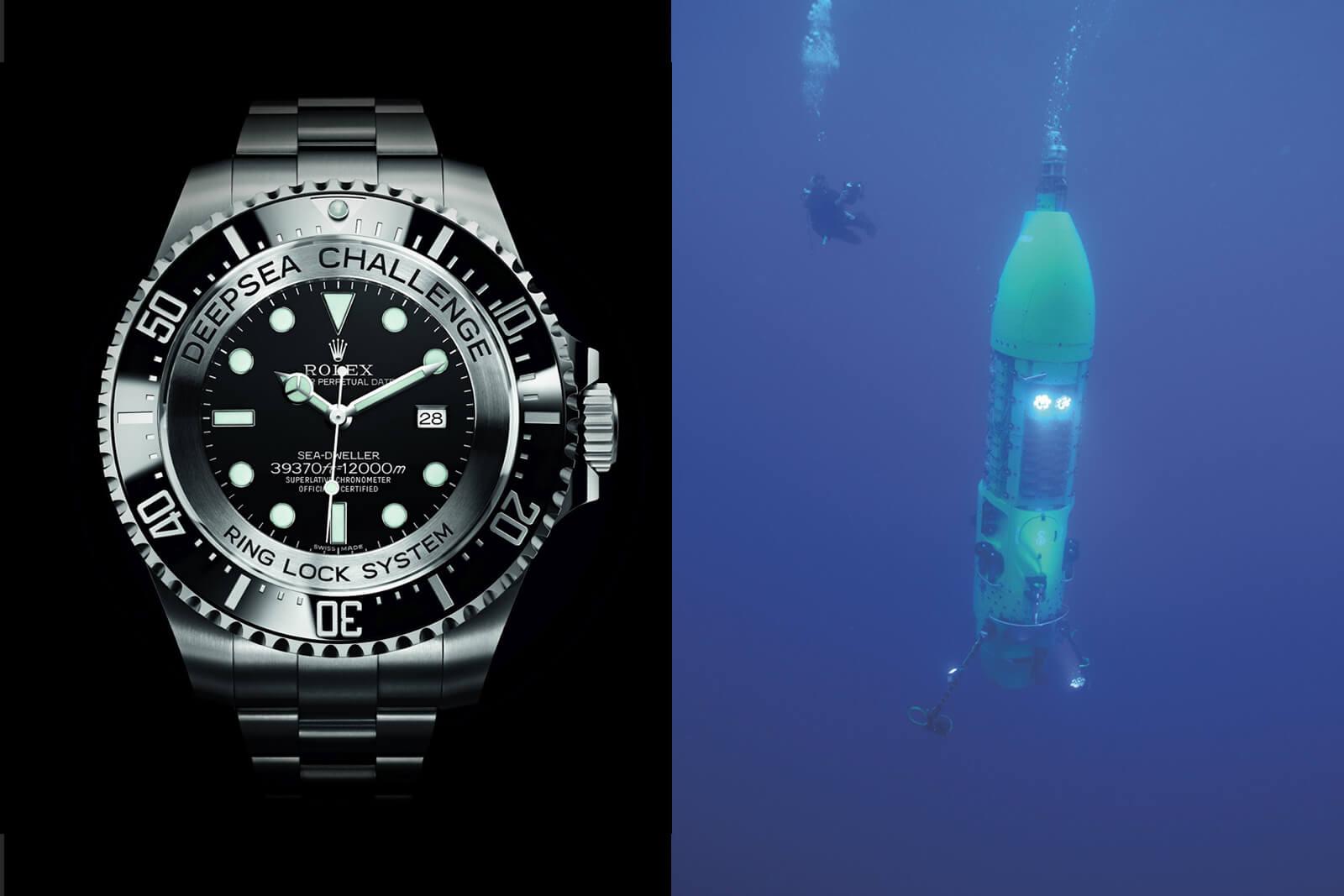 Rolex Deepsea Challenge (the Deep Sea Challenge)
