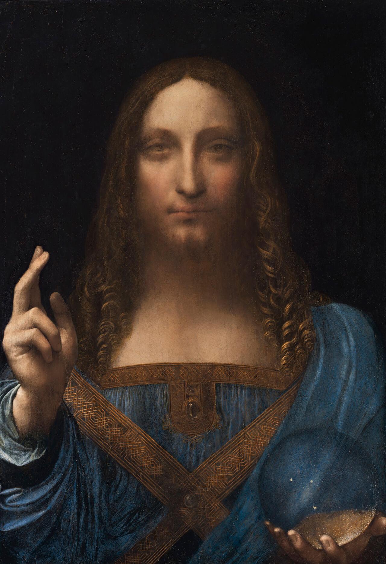 Salvator Mundi Leonardo Di Vinci