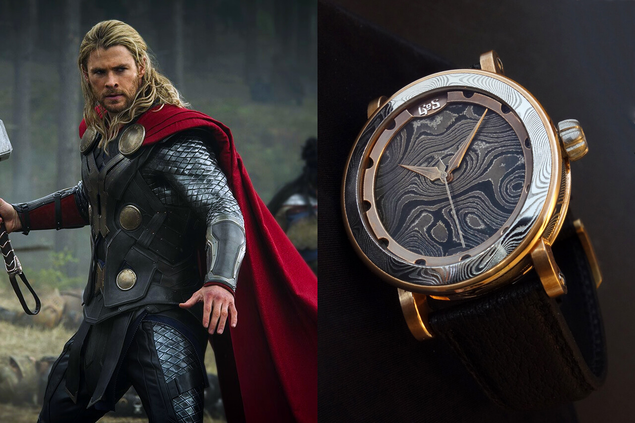 Thor Chris Hemsworth GoS Väring Viking Watch