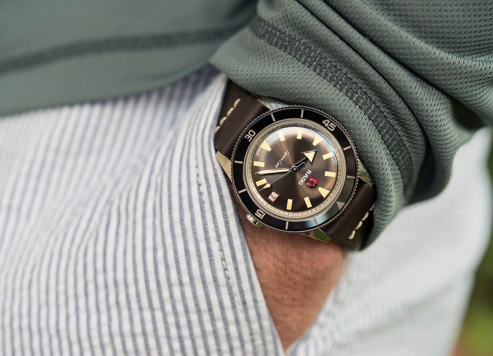 37mm Rado Captain Cook Watch