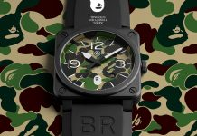 A Bathing Ape x Bell & Ross BR 03-92 Watch