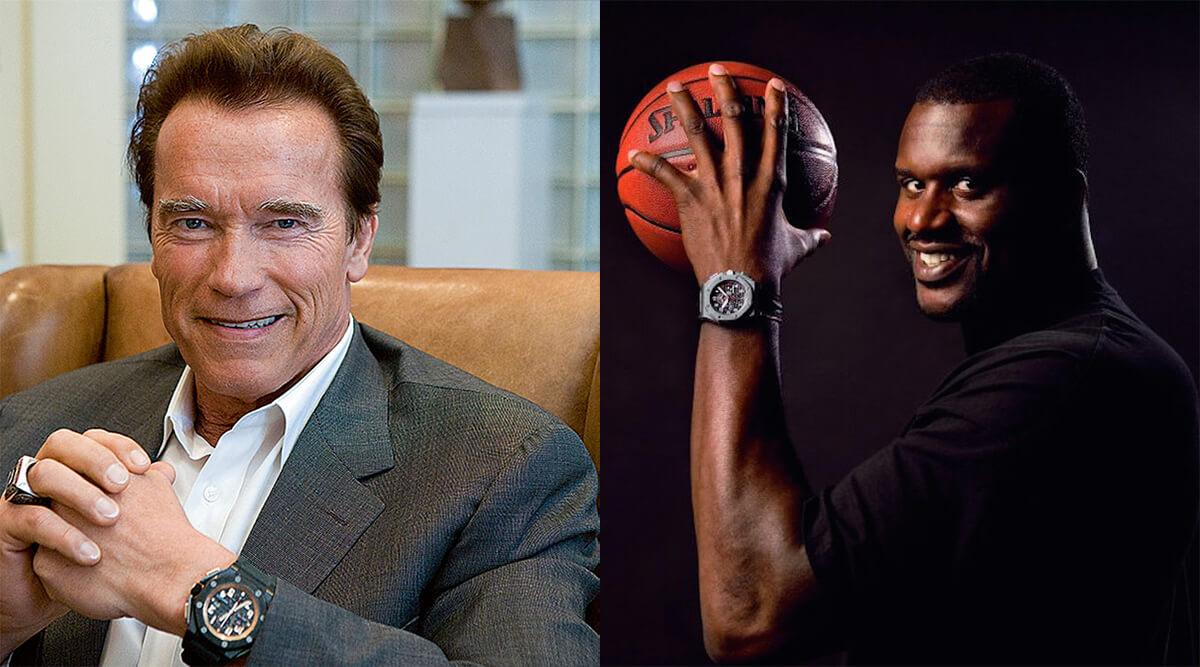 Arnold Schwarzenegger Shaquille O'Neal Audemars Piguet Watch