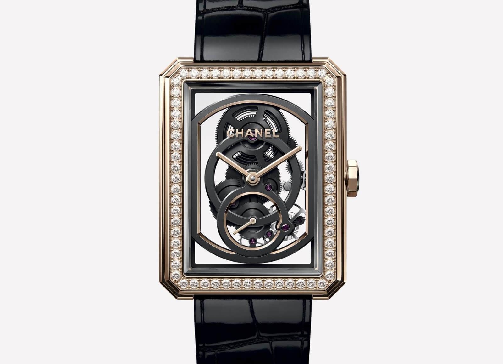 Chanel Boy-friend Skeleton Watch