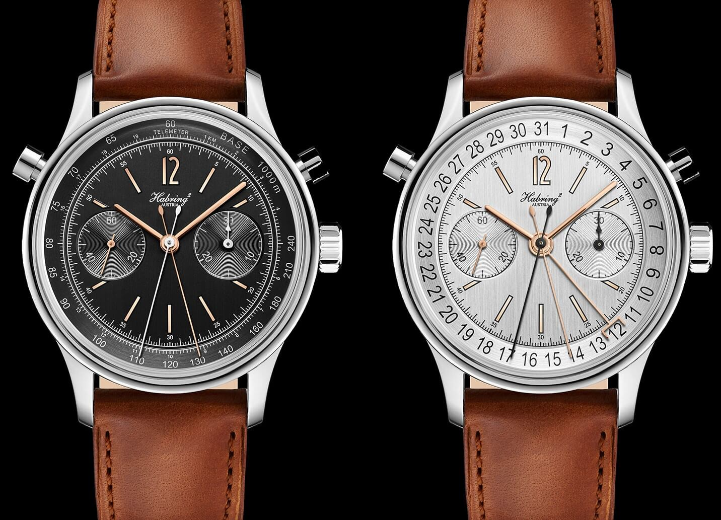 Habring2 Doppel Felix Chronograph Wristwatch