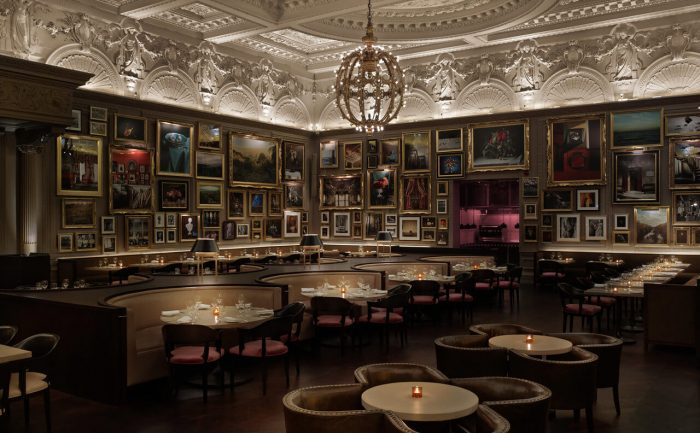 Lobby Bar at London's Edition hotel