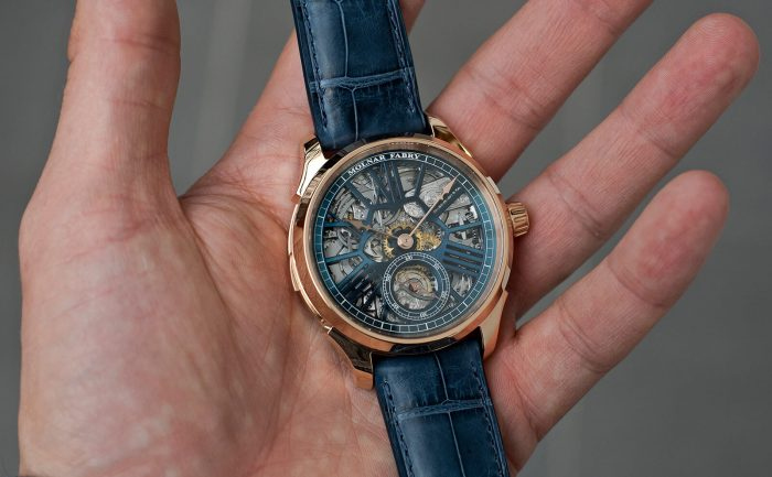 Molnar Fabry Nightingale Minute Repeater Unique Piece