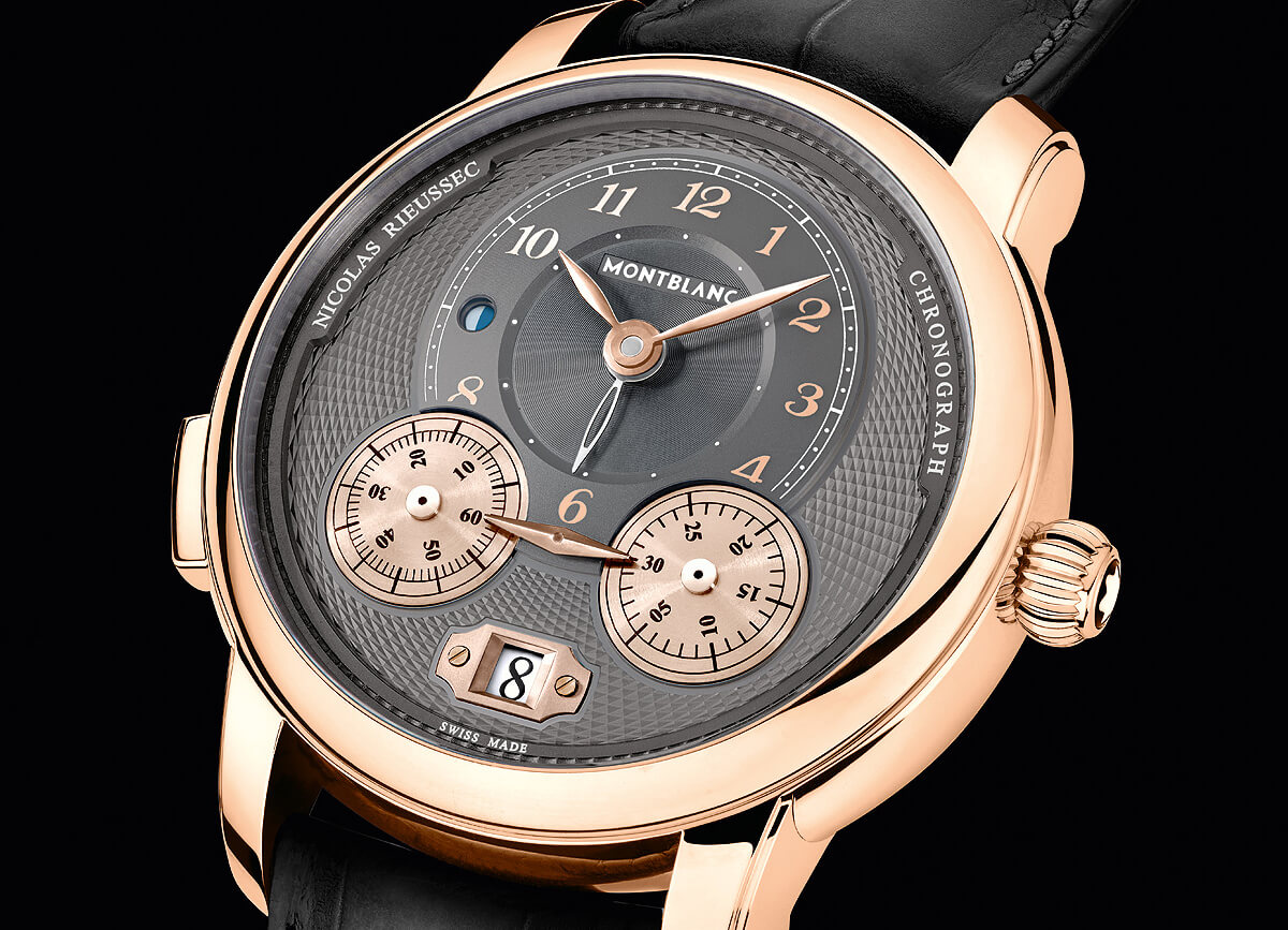 Montblanc Star Legacy Nicolas Rieussec Chronograph Rose Gold Watch