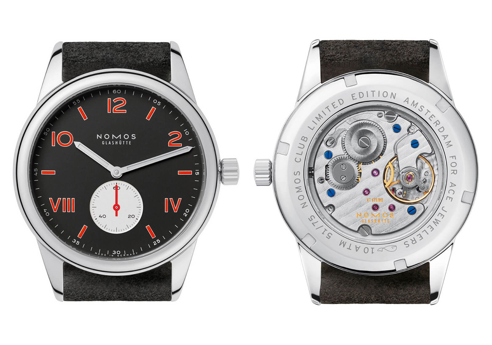 Nomos Club Campus Amsterdam Limited Edition with Ace Jewellers