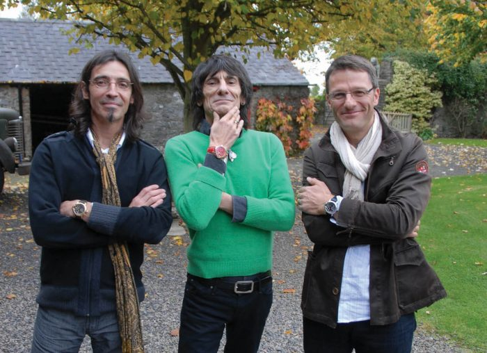 Ronnie Wood Vincent Bérard