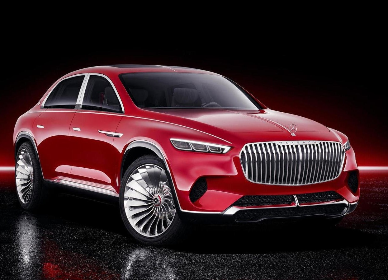 2019 Mercedes Maybach Vision