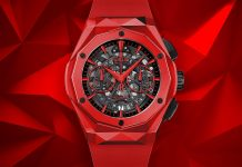 Hublot Classic Fusion Chronograph Orlinski Ceramic Watch