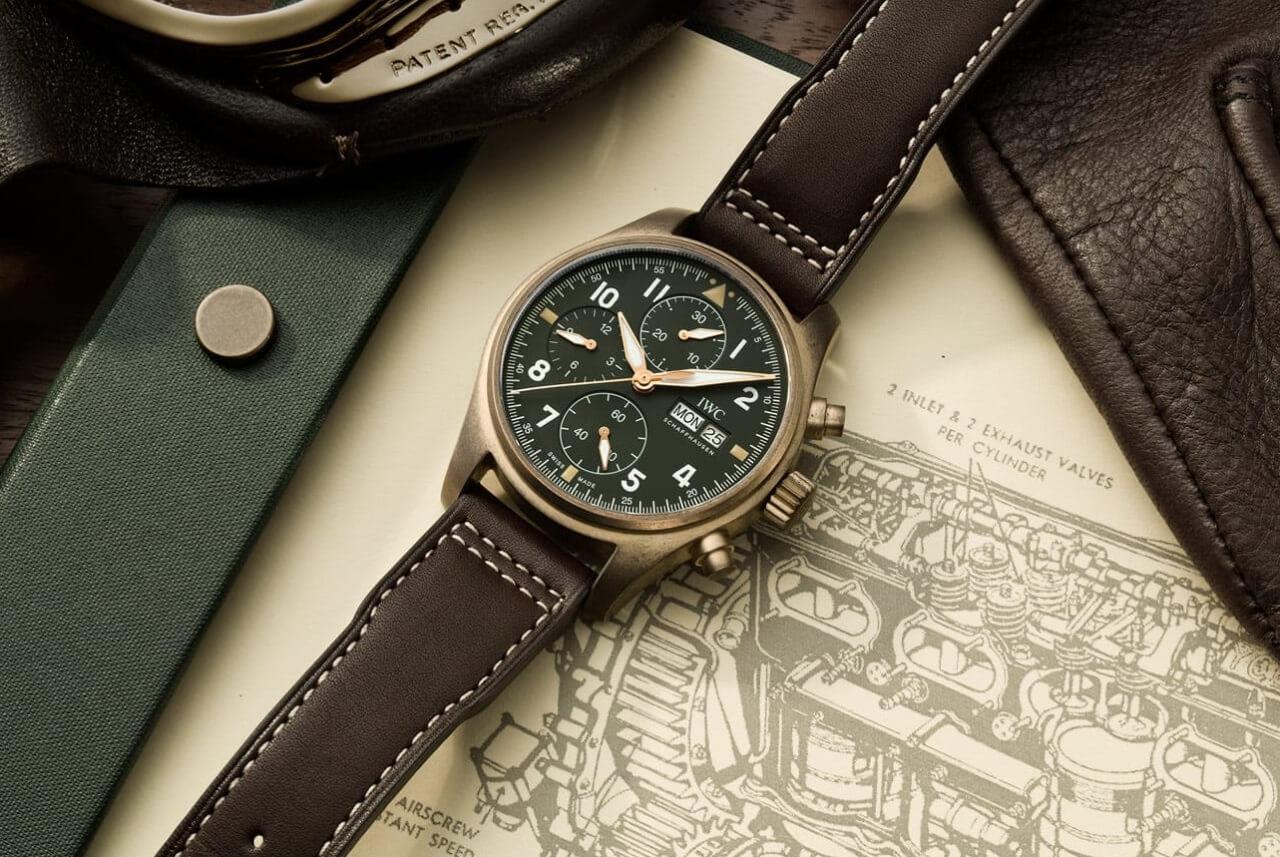 23028bc689e IWC Pilot s Watch Chronograph Spitfire Bronze (ref. IW387902)