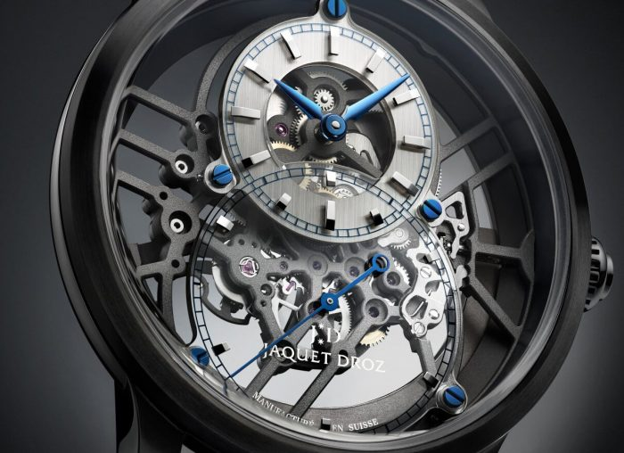 Jaquet Droz Grande Seconde Skelet-One Ceramic Watch