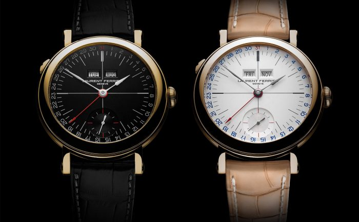 Laurent Ferrier Galet Annual Calendar School Piece Opaline Watch